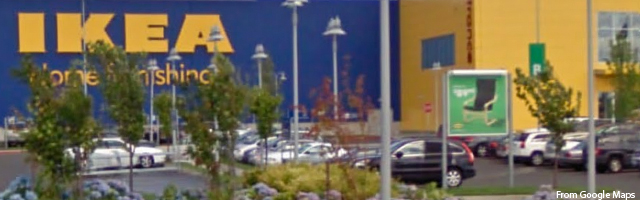 portland oregon shopping ikea stumped in stumptown