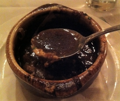 Serratto's French Onion Soup in Portland, Oregon