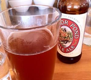 Kenny and Zuke's Delicatessen in Portland, Oregon - Mirror Pond beer