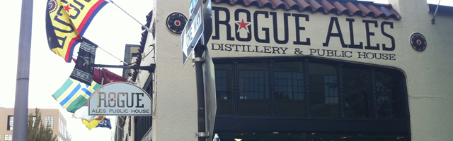 The Rogue Distillery and Public House in Portland, Oregon