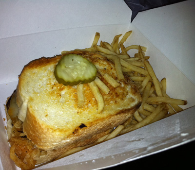 Rock Bottom Brewery's Patty Melt in Portland, OR