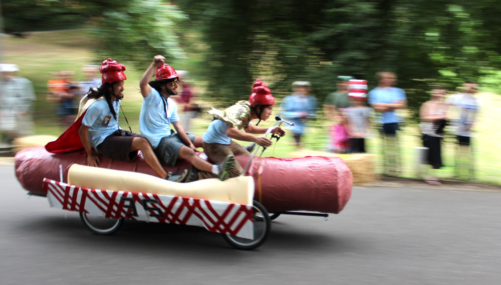 What is the Portland Adult Soapbox Derby?