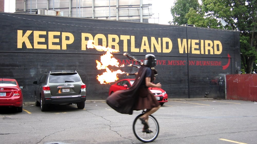 Why is Portland weird and Keep Portland Weird - Stumped in Stumptown