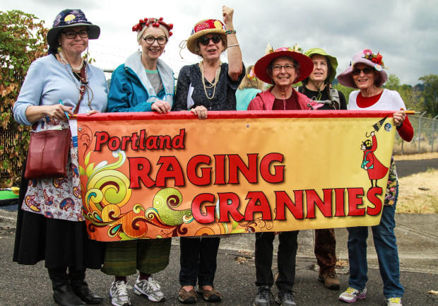 Who are the Portland Raging Grannies?